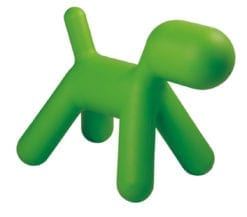 Eero Aarnio Style Puppy Stool in Green