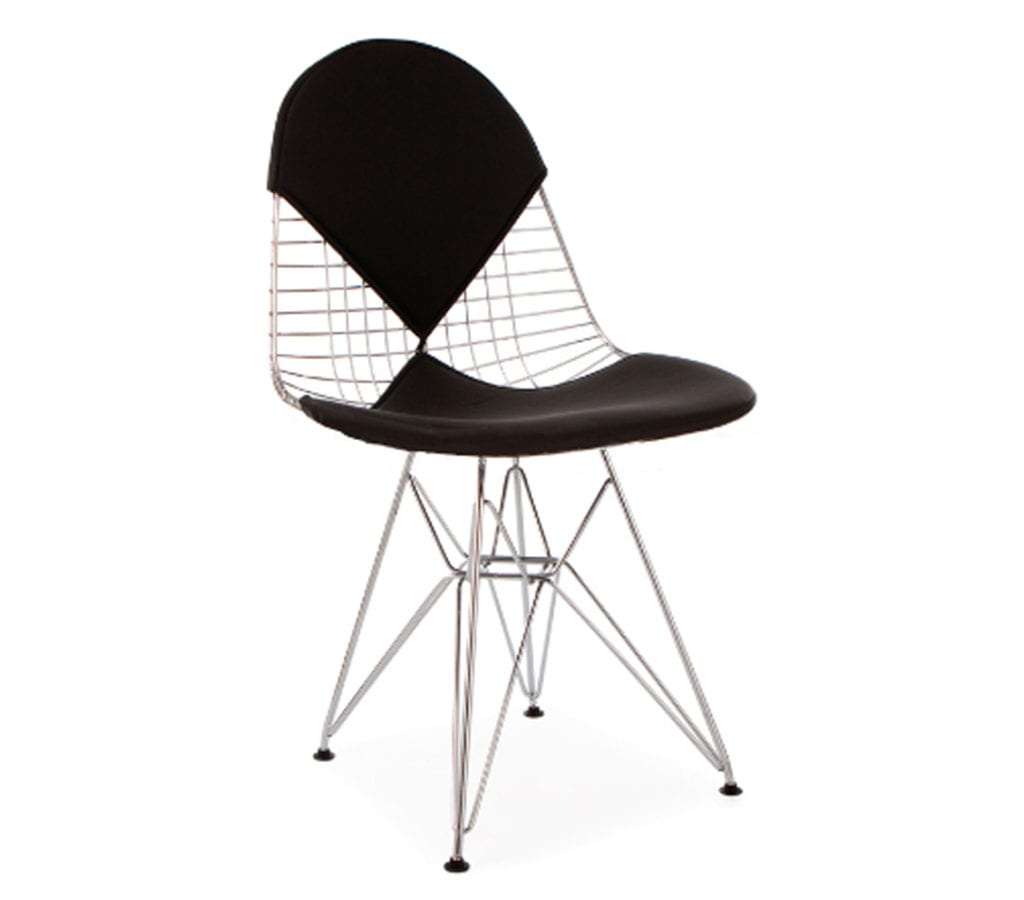 black bikini charles and ray eames style dkr wire chair light glory. Black Bedroom Furniture Sets. Home Design Ideas