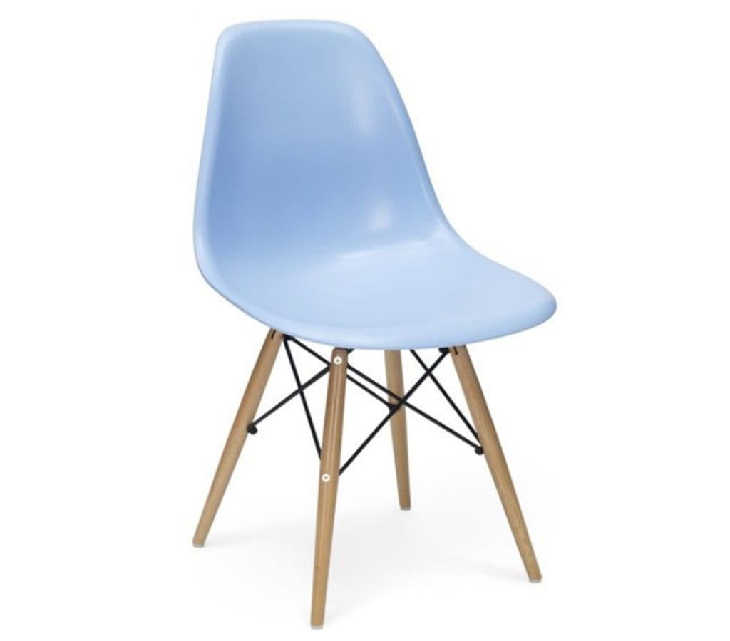 blue eames dsw chairs light glory. Black Bedroom Furniture Sets. Home Design Ideas