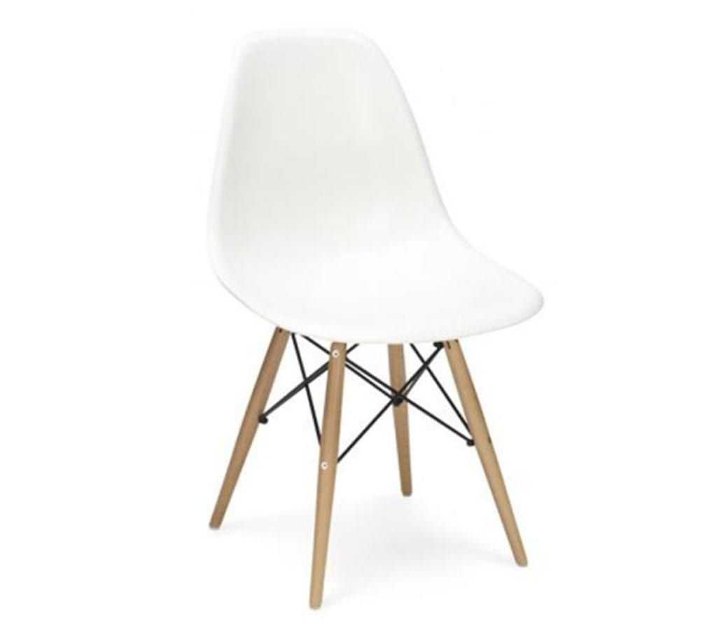 charles and ray eames style dsw chair in white charles and ray eames furniture