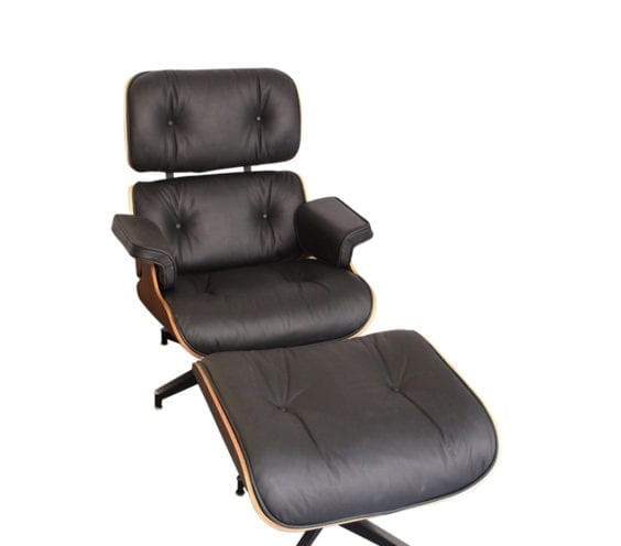 charles-eames-style-black-walnut-lounger-front-angle
