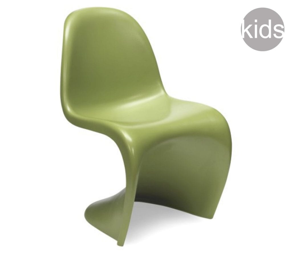 Childrens Panton Chair chairs green childrens verner panton style dining s chair 49