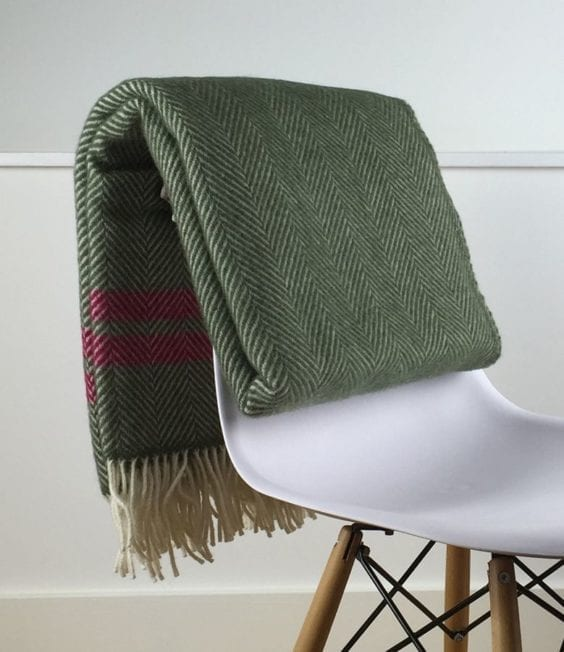 Fulham Blanket Olive Green Herringbone Wool Throw Light Glory Enchanting Olive Green Throw Blanket