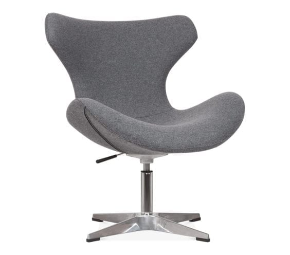 foss-upholstered-swivel-lounge-chair-with-aluminium-base-front-angle