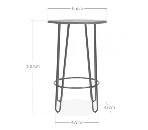 halden-black-wooden-top-high-table-with-hairpin-legs-1-dimensions