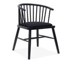 voma-black-ladder-back-armchair-with-upholstered-seat-front-angle-2